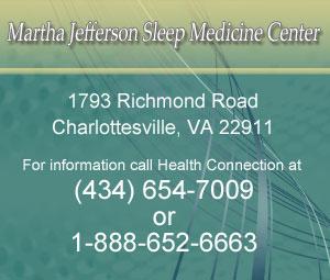 Martha Jefferson Sleep Center