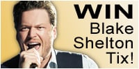 Enter to win tickets to Blake Shelton Live!