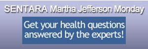 Sentara Martha Jefferson Monday