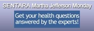 Sentara Martha Jefferson Monday