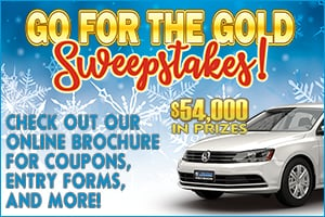 Go for the Gold Sweepstakes!