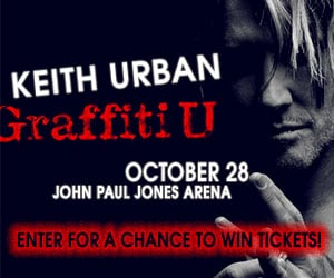 Keith Urban contest link