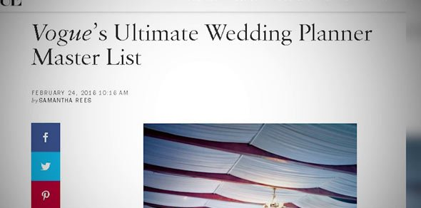 Two Charlottesville Wedding Planners Make Vogue's Ultimate ...