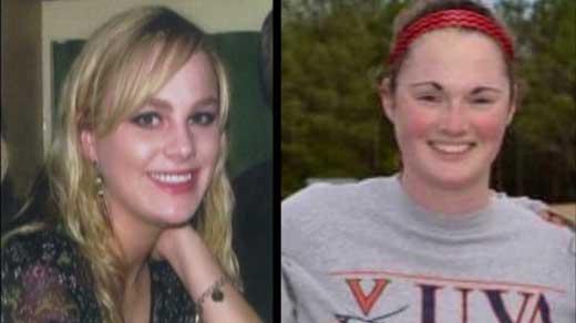 Morgan Harrington (left) and Hannah Graham (right)