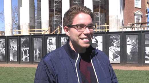 Santiago Naranjo, UVA student