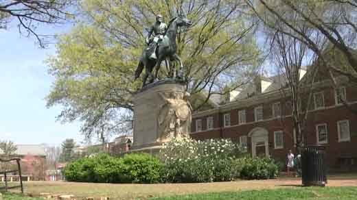 Statue of Confederate General Robert E. Lee
