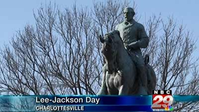 Robert E. Lee Statue in Lee Park