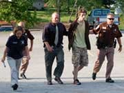 Austin Griffin's Arrest - courtesy NelsonCountyLife.com