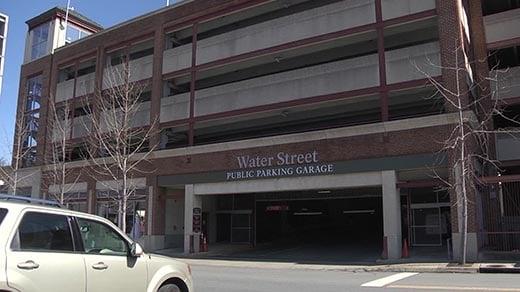 Water Street Parking Garage (FILE)