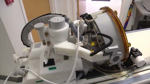 Focused ultrasound machine
