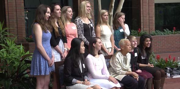 Ten Albemarle seniors receiving Emily Couric Scholarship Award