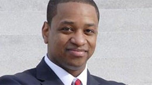 Justin E. Fairfax.  Photo courtesy of vote-va.org