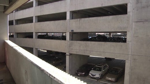 File Image: Water Street Parking Garage in Charlottesville