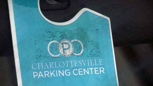 File Image: Charlottesville Parking Center (CPC) badge
