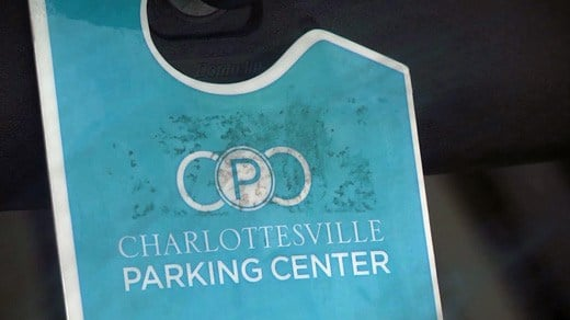 File Image: Charlottesville Parking Center (CPC) badge