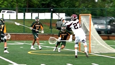 Junior Joe Roberston had seven goals for the STAB boys lax team