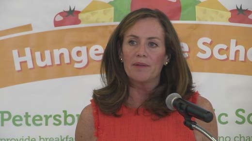 Virginia First Lady Dorothy McAuliffe