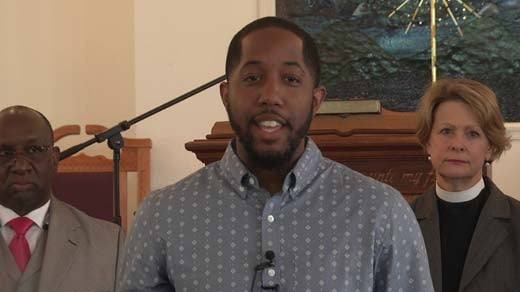 Pastor Nathaniel Drew of the Bethany Seventh Day Adventist Church