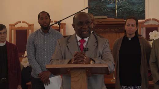 Alvin Edwards, Mt. Zion First African Baptist Church