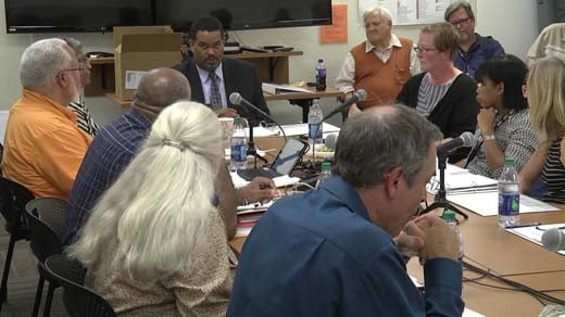 Charlottesville's Blue Ribbon Commission met for the first time Thursday