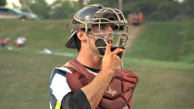 Tom Sox catcher Jake Allen