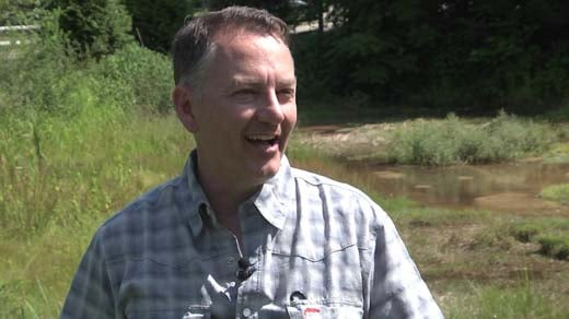 Shenandoah Valley Trout Unlimited President Jim Josefson