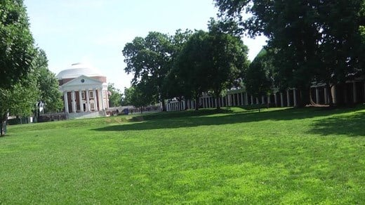 File Image: The University of Virginia Lawn