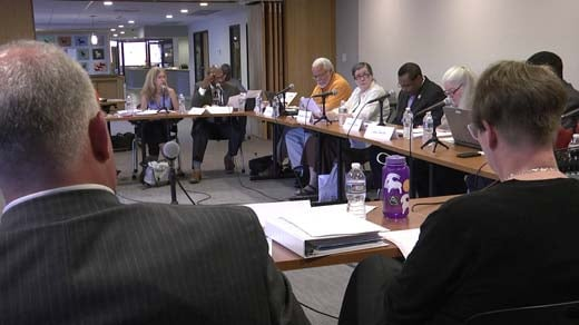 The Blue Ribbon Commission met Thursday