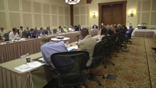 The University of Virginia Board of Visitors met at a retreat Monday