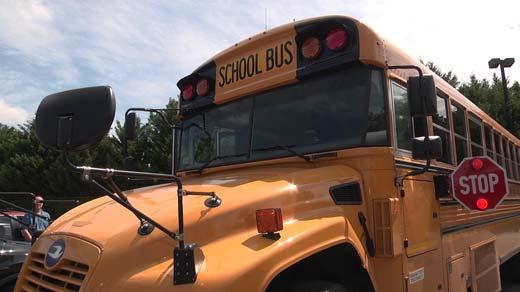 File Image: Albemarle County Public School bus