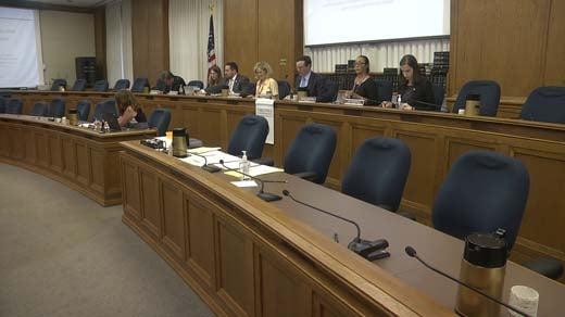 Voting officials met at the State Board of Elections meeting in Richmond Tuesday