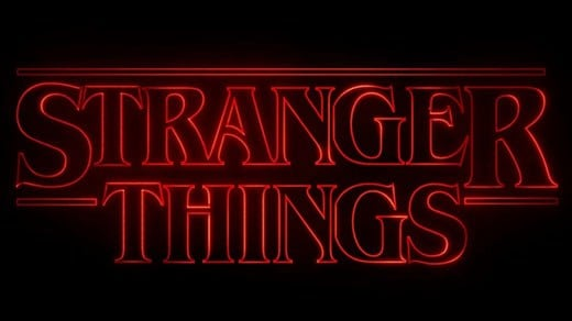 Stranger Things logo courtesy of Netflix