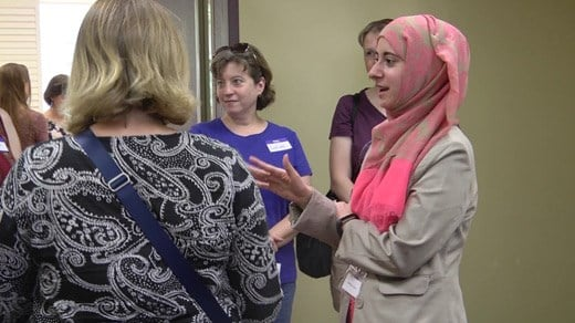 Open house event at a mosque in Charlottesville