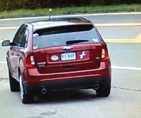 Surveillance photo of car suspect was seen driving
