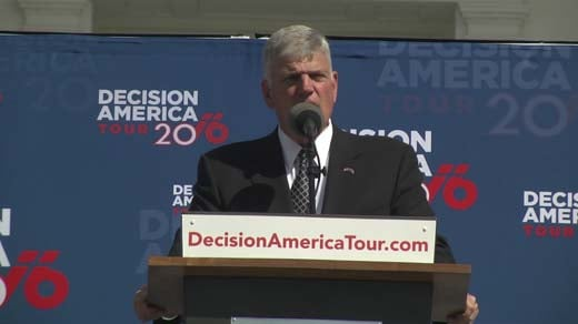 Christian Evangelist Franklin Graham