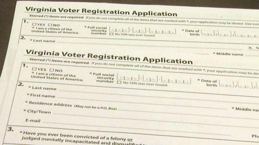 Va. Online Voter Registration System Crash Leads to Lawsuit ...