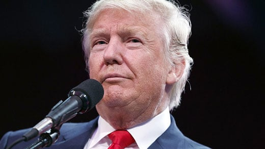 Donald J. Trump (Photo courtesy the Associated Press)