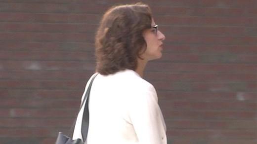 Sabrina Rubin Erdely entering court (FILE)