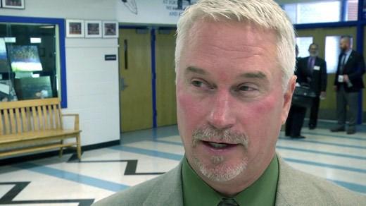 Augusta County Public Schools Assistant Superintendent Douglas Shifflett
