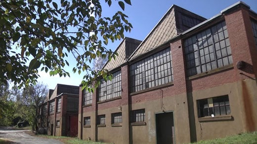 Old Woolen Mills factory in Albemarle County (FILE)