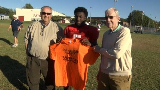Jamal Thompson rushed for 223 yards and three touchdowns against Powhatan
