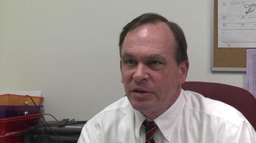Jake Washburne, voter registrar director for Albemarle County
