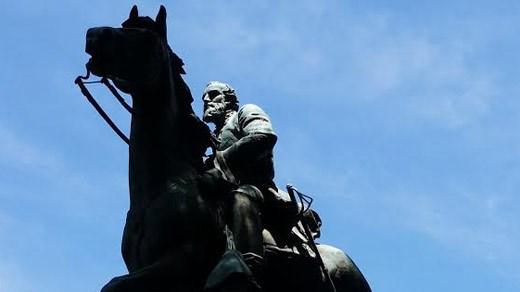 "Statue of General Thomas Jonathan ""Stonewall"" Jackson in Charlottesville (FILE)"