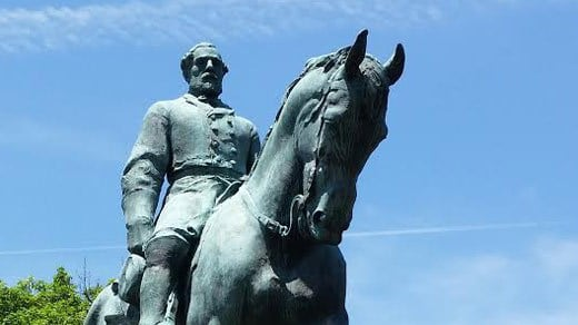 Statue of General Robert Edward Lee in Charlottesville (FILE)