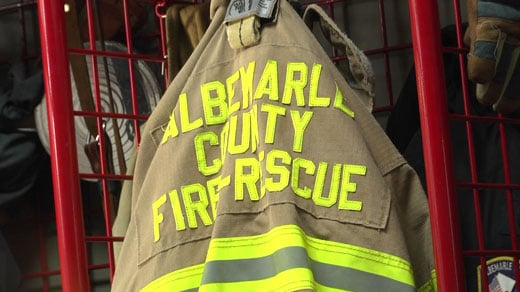 Albemarle County Fire Rescue jacket