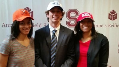 STAB's Brianna Tinsley, Joe Robertson & Jayla Davis sign National Letters of Intent
