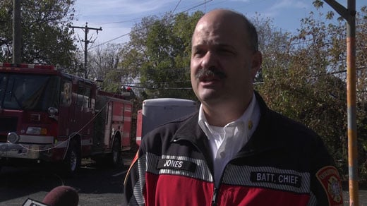 Battalion Chief Richard Jones of the Charlottesville Fire Department (FILE)