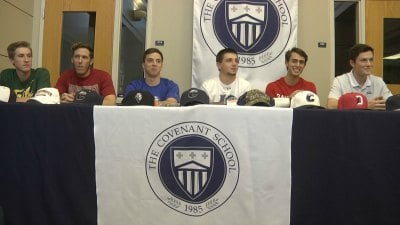Six Covenant baseball players will play in college