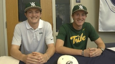 Jake Haney & Will Moore sign with William & Mary