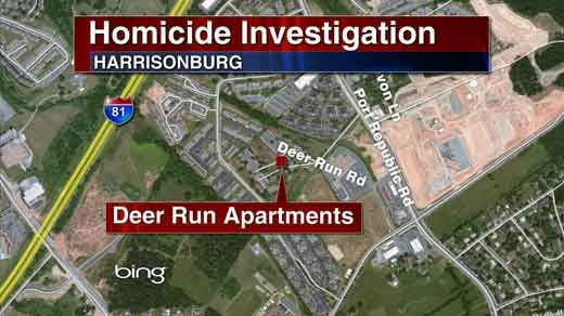 Map of homicide location